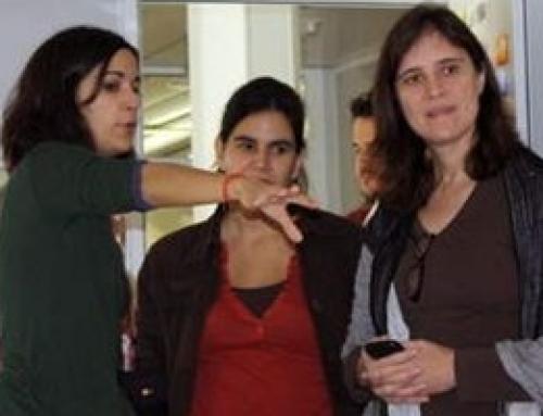 La viceministra d'educació del Paraguai ens visita.